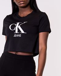 CK Gel Print Monogram Tee Black