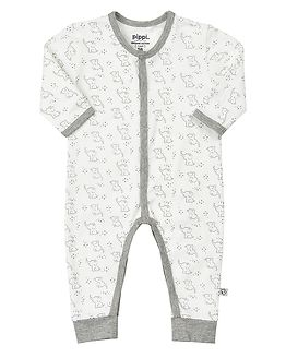 Jumpsuit AO Printed White