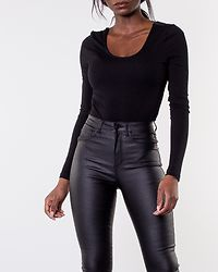 Kerry Longsleeve Bodystocking Black