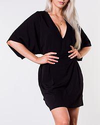 Karmen Kimono Dress Black