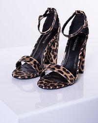 Leia Strap Heels Leopard