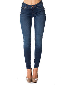 Lucy Power Shape Jeans Dark Blue Denim