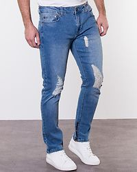 Warp Zip 7919 Light Blue Denim