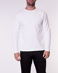Logan Bla Sweat Crew Neck White/Regular Fit