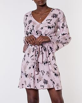 Domenica Dress Dusty Pink/Floral
