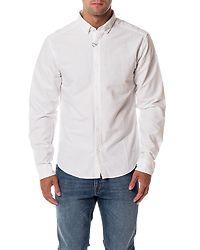 Sebastian LS Oxford Shirt White