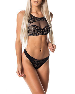 Bralette Lightly Lined Black
