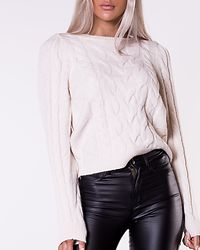 Inger 7/8 Cable Blouse Birch