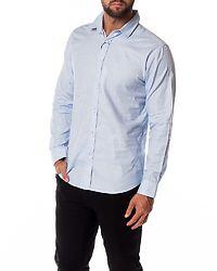 Slim Kris-Pan Shirt Light Blue/Neps