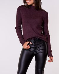 Ril Turtleneck Knit Winetasting/Melange