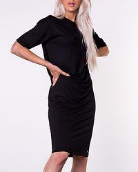 Edit Midi T-Shirt Dress Black