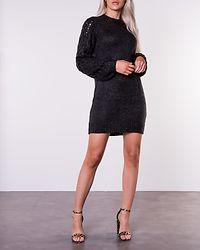 Sara Long Sweater Dark Grey Melange