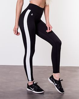 Strike Leggings Obsidian Black