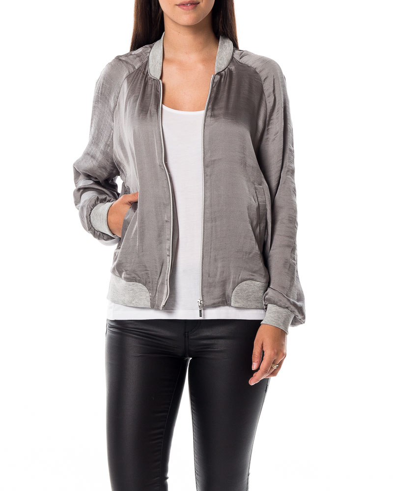 Vero Moda, Nicole Short Jacket Frost Grey | Jackets ...