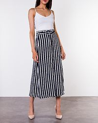 Sasha Ankle Skirt Navy Blazer/Snow White