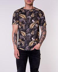 T-Shirt Black/Palm