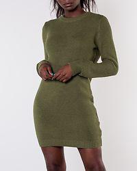 Richard O-Neck Knit Dress Olivine
