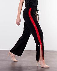 Nia Pants Black/Flame Scarlet