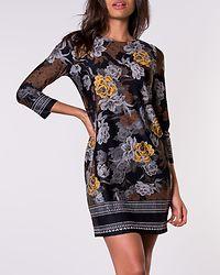 Blenda Dress Black/Floral