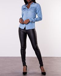 Bista Denim Shirt Medium Blue Denim/Clean