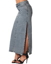 Avery Skirt Left Eye Blue
