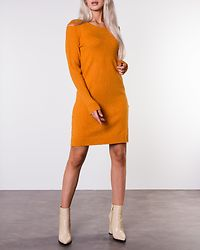 Ril Knit Dress Golden Oak/Melange
