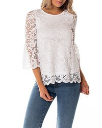Amie Lace Top White