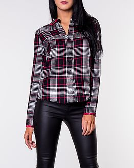 Farah Collar Shirt Black/Checked
