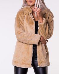 Malou Faux Fur Coat Pure Cashmere
