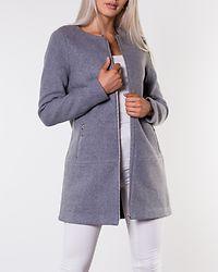 Katharina Rianna Wool Coat Light Grey Melange