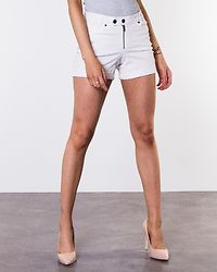 Be Lucy Zipper Shorts Bright White