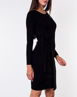 Elizabella Knitted Dress Black