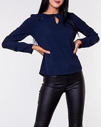 Naomi Cutout Top Navy Blazer