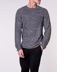 Flynn Knit Crew Neck Grey Melange