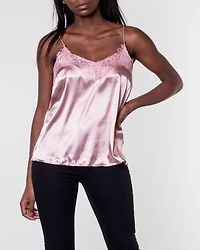 Leona Lace Top Old Rose