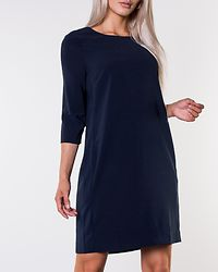 Nathalia 3/4 Sleeve Dress Total Eclipse