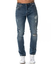 Carrot 104 Medium Blue Denim