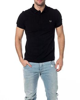 Slim Fit Twin Tipped Shirt Black/Chrome