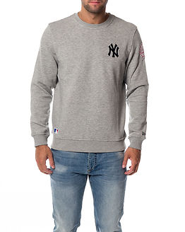 Crew Neck New York Yankees Light Grey
