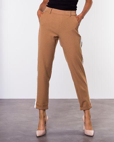 Maya Me Mr Loose Panel Pants Tobacco Brown White 2edd1d6942c6d