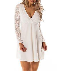 Alma Dress White