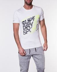 Active Graphic Tee White