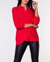 Jade Collar Shirt Red