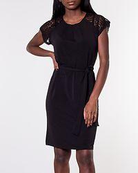 Alberta Lace Dress Black