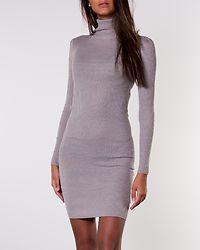Juliet Roll Neck Dress Crystal Grey