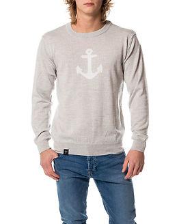 Anchor Merino Knit Light Grey