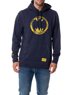 Retro Batman Triblend Hoody Midnight Navy