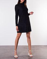 Kleo Long Sleeve Knit Dress Dark Grey Melange