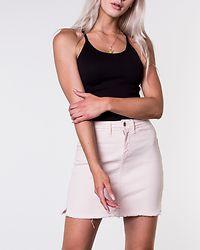 Anica Skirt Raw Hem Shell