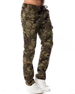 Harlem Cargo Pants Military Camo